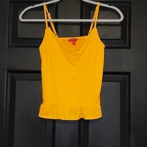 Guess Yellow Top